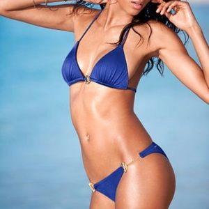 VICTORIA'S SECRET   triangle toggle bikini set XXS